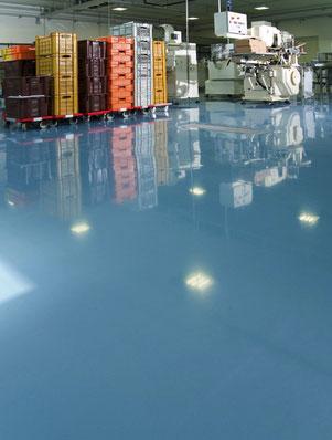 Bevorzugt Industrieböden - Was ist Industrieboden oder Industriefußboden? DZ48